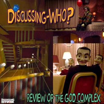 Cover art for Episode 229: Review of The God Complex, Doctor Who Series 6 Episode 11