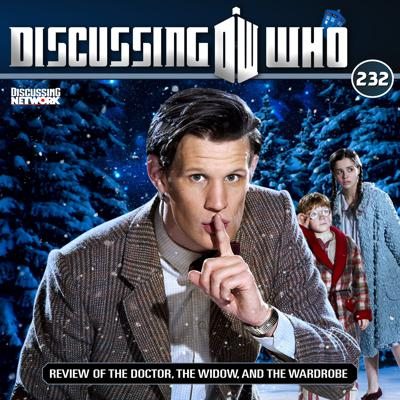 Cover art for Episode 232: Review of The Doctor, the Widow, and the Wardrobe