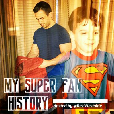 My Super Fan History was a planned podcast from Anthony Desiato exploring Superman across time and media. The show was retitled DIGGING FOR KRYPTONITE: A SUPERMAN FAN JOURNEY and is available via a separate podcast feed across platforms. Subscribe to Digging for Kryptonite!