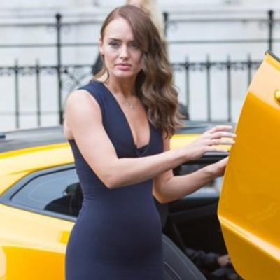 Cover art for Laura Haddock from Transformers