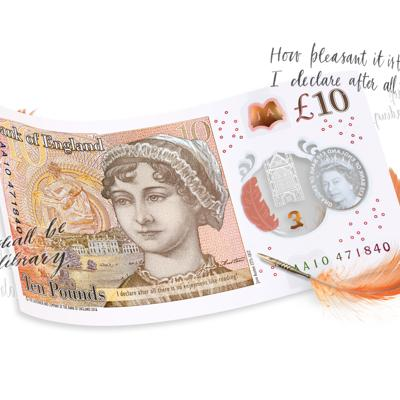 Cover art for The New Tenner: Who is Jane Austen?