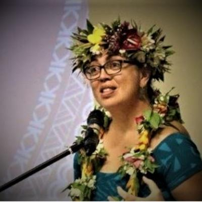 Cover art for Ms Tepaeru Herrmann, Secretary, MInistry of Foreign Affairs and Immigration , Cook Islands - First Rarotonga Treaty States PartiesMeeting.