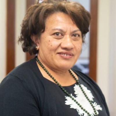 Cover art for Commissioner for the Royal Commission of Inquiry: Abuse in Care, Aliʻimuamua Sandra Alofivae.