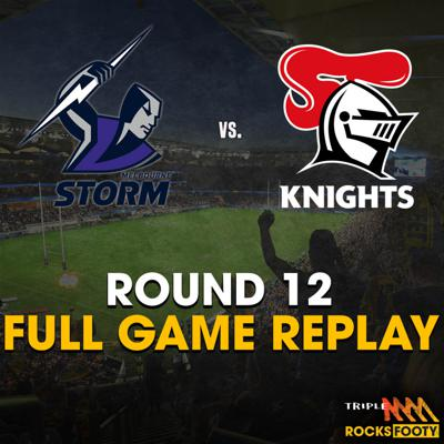 Cover art for FULL GAME REPLAY | Melbourne Storm vs. Newcastle Knights