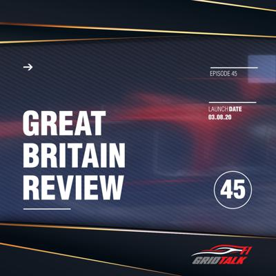 Cover art for Formula 1 Grid Talk Episode 45: 2020 British Grand Prix Review