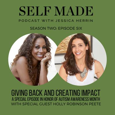 Cover art for Giving Back & Creating Impact with Special Guest Holly Robinson Peete