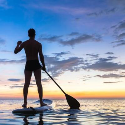 Cover art for South African Surfer Crosses Atlantic on Stand-Up Paddleboard