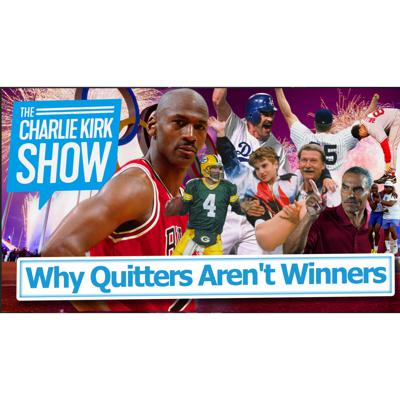 Cover art for Why Quitters Aren't Winners