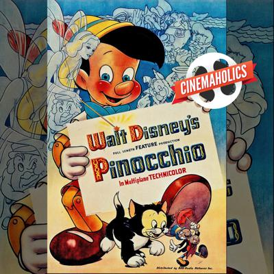 Cover art for Pinocchio (1940)