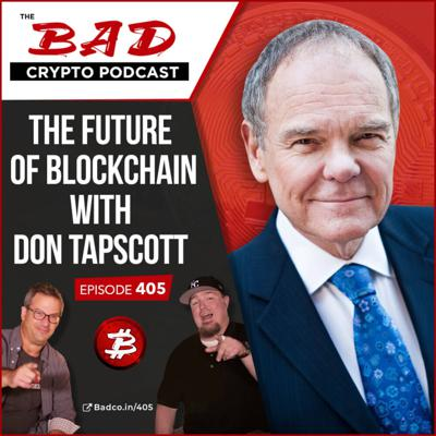 Cover art for The Future of Blockchain with Don Tapscott