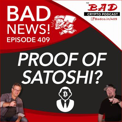 Cover art for Proof of Satoshi? Bad News for Friday, May 22nd