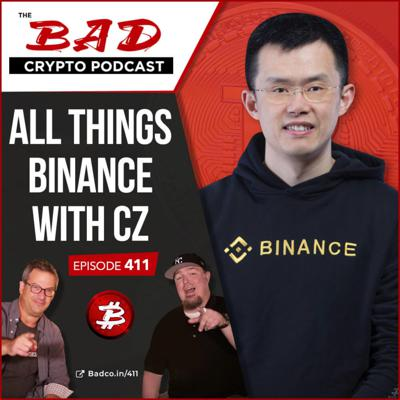 Cover art for All Things Binance with CZ