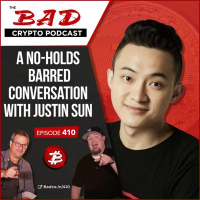 Cover art for A No-Holds Barred Conversation with Justin Sun