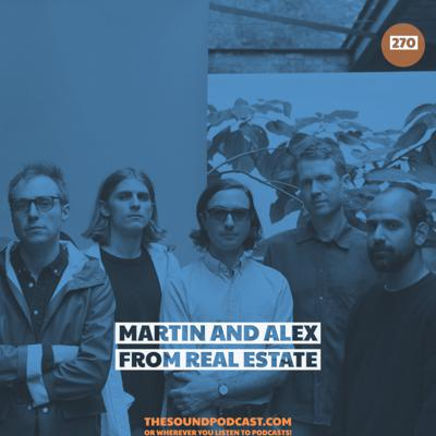 Cover art for Martin and Alex from Real Estate
