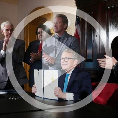 Cover art for Governor Mike DeWine signs NIL executive order for college athletes