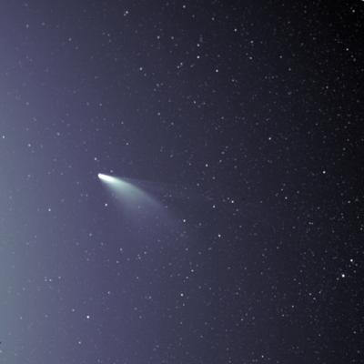Cover art for Cosmic Queries – Comet NEOWISE