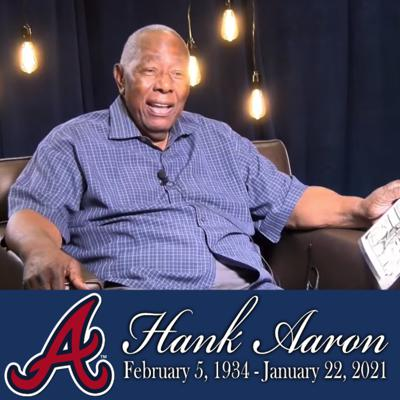 Cover art for Hank Aaron Interview with Chris Dimino from 2001