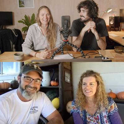 Cover art for #5 - Brett & Nici from Limestone Permaculture on Drought, Bushfires, & Answering Your Questions