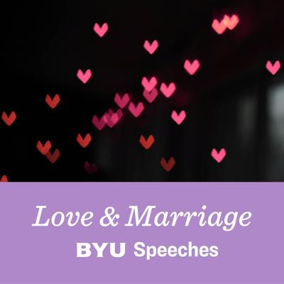 Curious about love and marriage? Uncertain how to strengthen your relationship skills? Our hand-curated Love and Marriage podcast is full of talks from acclaimed speakers who want to help. Every Friday, hear new advice from popular BYU guests as they share with you what they have learned about love.