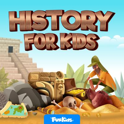 This is THE podcast for kids that want to learn all about history. From the Victorian era to the Romans, each
