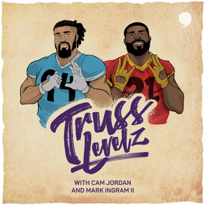 NFL superstars, Cam Jordan and Mark Ingram are former Saints teammates and real-life friends whose personalities, minds, and hearts are as big as their talent on the field. Brimming with an infectious energy, these two juggernauts have joined forces to share the stories that go beyond the X's and O's while spreading good vibes far-and-wide. On its surface, football is a game of combat enacted by athletes at the peak of their performance. It's the definition of rough & tumble and not for the faint of heart. But there's so much more to these gridiron warriors than what we see on the field. Prepare yourself for the ultimate inside look into the world of football. There's levels to this game... Truss.