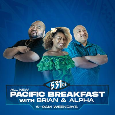 From politics, to health, education, the arts & everything in between, Brian and Alpha have you covered. Touching on topics and issues that are important & impact our Pacific community, every weekday mornings 6am-9am.