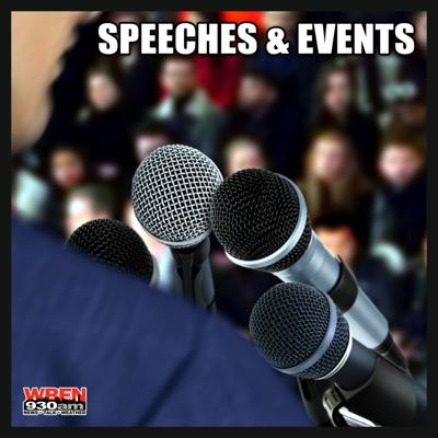 Archive of speeches and events in the news.