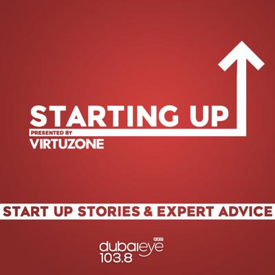 StartingUp is your weekly guide to launching a new business in the UAE. Every Saturday we bring you inspirational stories, business news, and expert advice to help you get your idea off the ground. Whether you're tuning in because you're curious about how the top entrepreneurs made their first million, or you need specific legal advice to scale up your side hustle, join the conversation with Natalie Lindo Taylor and a Virtuzone co-host on Saturday afternoons from 1pm to 3pm.