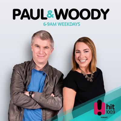 Join Paul & Woody for breakfast each weekday morning on Hobart's 100.9 Sea FM