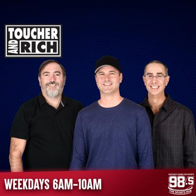 Full show podcasts in one-hour segments, of Toucher & Rich, updated weekdays. Listen to T&R live every weekday from 6am-10am ET on Boston's Home for Sports, 98.5 The Sports Hub.