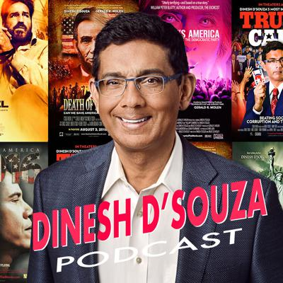 Best-selling author and documentarian Dinesh D'Souza provides enlightened conversations about politics, history, philosophy, literature, and much more.