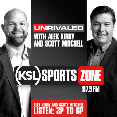 KSL's Unrivaled features unique takes on the sports news of the moment. Hosted by Scott Mitchell, a former University of Utah and NFL Quarterback who brings a wealth of knowledge to the show and Alex Kirry, a talk radio veteran who has covered BYU for more than a decade and hosts Cougar Sports Saturday on KSL.  Anything is up for grabs on the show, from the NFL and NBA (Utah Jazz), to the Utes, Cougars, Aggies and even prep sports. Never taking themselves too seriously, if there is a sports topic they love, they want you to hear about it on KSL's Unrivaled.