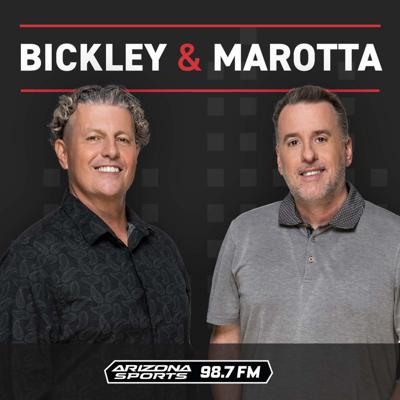Dan Bickley is the most influential sports media member in AZ sports history, having spent over 20 years as the award-winning lead sports columnist for The Arizona Republic and on sports radio. Vince Marotta is the ultimate local sports fan who has been on Valley radio for 20+ years.  Bickley and Marotta fuses strong sports opinion with entertainment every weekday from 10am to 2pm.