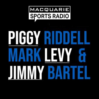 Wake up with Macquarie Sports Radio's Breakfast show, providing listeners with the most comprehensive coverage of all the big stories in sport.  Former NRL star Mark 'Piggy' Riddell and former AFL Brownlow Medalist Jimmy Bartel join leading sports broadcaster Mark Levy for an action-packed show full of big opinions, bigger laughs, from three of the biggest gibberers.  If it happened in sport, you'll hear it here first.