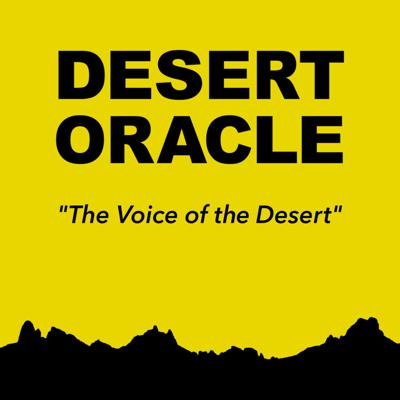 Desert Oracle Radio is a weekly road trip through the weird American desert from the publisher of Desert Oracle, the pocket-sized field guide published in Joshua Tree, California. Hear tales of mysterious lights, missing tourists, lost mines, venomous creatures, weird history and weirder people. Hosted by editor Ken Layne and featuring a cast of intriguing mystics, oddballs, scientists and artists, Desert Oracle Radio is your soundtrack for a desert night. The program is broadcast on Friday nights at 10 p.m. on KCDZ 107.7 FM in the Mojave high desert, with field reports from around and across the desert lands, and is distributed by Public Radio Exchange (PRX).