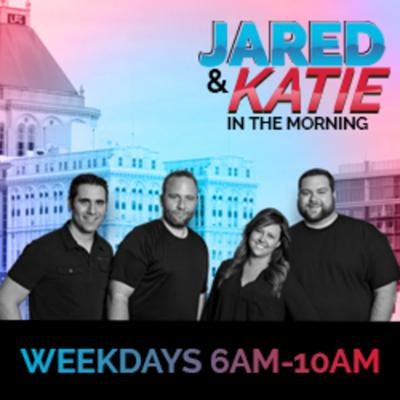 Jared and Katie in the Morning's War of the Roses!