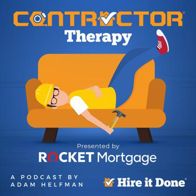 """Contactor Therapy is a 40-50 minute recorded podcast that focuses on real-life anecdotes of home improvements gone wrong. The show is hosted by Adam Helfman, a 30-year veteran in home renovation and contracting, who will provide his unique stories and insights. Each episode is themed around a particular subject such as """"How Homeowners Sabotage their Home Renovation."""" The anecdotes told on the show by both Adam and his guests will be madcap in tone and focus on absurd, outlandish, amusing, and humorous events that have happened on real job sites. They will revolve around the absolute worst-case, real-life scenarios in home improvement. To facilitate this, the show will be slightly edgier in tone than a typical broadcast radio program."""