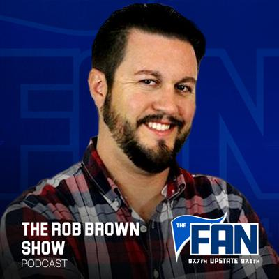 Rob Brown is the newest addition to ESPN UPSTATE's leading line-up of local talk shows! Rob has been in the radio business for over 14 years and his happy to now call the Upstate his home! The Rob Brown Show isn't your normal sports talk show. It's not yelling about stats or forcing contrived arguments for the sake of confrontation. The Rob Brown Show is your three hour daily escape from the mundane, and an adventure into the human side of sports. When Rob comes on the air, he isn't there to talk at you. Here's there to talk to you about the things that make sports fun and interesting. Rob will still tackle the controversial, and has no shortage of opinions about any and all sports topics that matter to Upstate South Carolina. But at the end of the day, The Rob Brown Show is a gathering place, a spot for sports fans of all walks of life to come together, laugh, joke and talk about sports the way that actual human beings want to do. When Rob isn't on the air, he also plays music in an 80's cover band for fun. The Rob Brown Show, weekdays Noon to 3pm on ESPN UPSTATE!