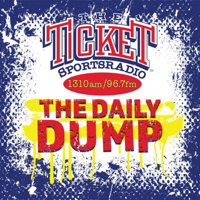 The Ticket Daily Dump is warm and fresh newly created content dropped off daily for you, the SUPERFAN of Sportsradio 1310 and 96 7 FM the Ticket in Dallas Ft Worth. Quickly get up to speed on the latest from the Ticket, with piping hot sports opinions and loads of laughs from America's Favorite Station. All presented in a rapid fire short form podcast you can digest and dump easily.
