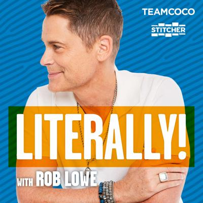 This isliterally a podcast where people I love, admire, and know well will be in a safe space to really let their hair down (assuming they have any). I will cover the thoughtful to the extremely random. So join me and my guests from the world of movies, TV, sports, music, and culture for fun, wide-ranging, free-wheeling conversations.