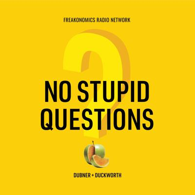 """Stephen Dubner (co-author of the Freakonomics book series) and research psychologist Angela Duckworth (author of Grit) really like to ask people questions, and came to believe there's no such thing as a stupid one. So they made a podcast where they can ask each other as many """"stupid questions"""" as they want.New episodes each week.No Stupid Questionsis a production of the Freakonomics Radio Network."""