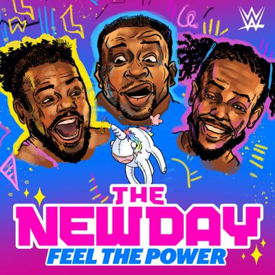 Kofi Kingston, Big E and Xavier Woods perform as an eccentric and talented trio inside the WWE ring,but their charisma and off-the-wall humor extends far beyond the mat. Here, you'll be a fly on the wall for stories behind the scenes, on the road and with their many fascinating friends. Whether you're a WWE fan or not, this trio is bound to keep you entertained each and every week.  Follow The New Day @truekofi, @wwebige and @xavierwoodsphd. The New Day: Feel the Power is produced by the Official WWE Podcast Network. To see how we use your data, visit https://www.endeavoraudio.com/privacy-policy