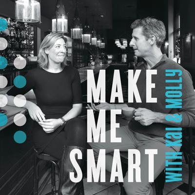 """Hosted by Kai Ryssdal and Molly Wood, """"Make Me Smart with Kai & Molly"""" is now a daily news podcast that breaks down the impact of COVID-19 on the economy and the most complex topics of the week. In a time when the world is moving faster than ever, this podcast is where we unpack complex topics, together. Because none of us is as smart as all of us."""