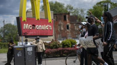 Cover art for The complicated history of McDonald's and Black America
