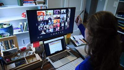 Online learning requires internet access and a device — for teachers, too