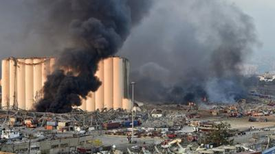 Cover art for Can Lebanon cope with devastating loss of vital port?
