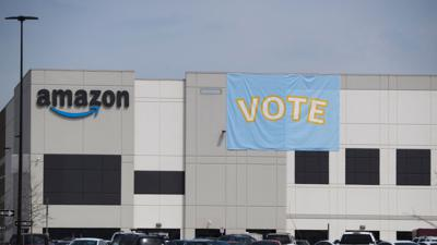 Cover art for Amazon workers vote against unionization