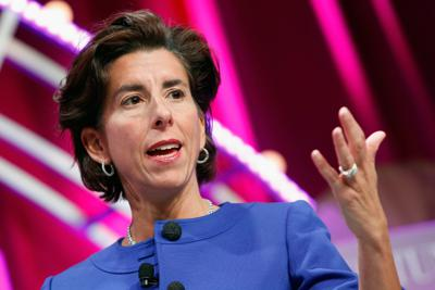 Cover art for Commerce Secretary Gina Raimondo drops in to talk infrastructure, chips and the care economy