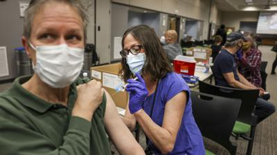 Cover art for An uneven vaccine rollout means an uneven economic recovery