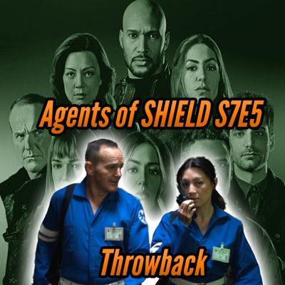 Cover art for Agents of SHIELD S7E5 Throwback